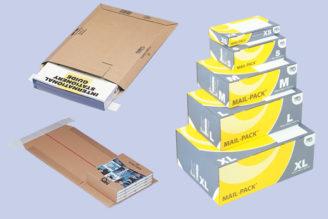 Produktkategorie Verpacken & Versenden - Versandverpackungen und Verpackungszubehör für unterschiedlichstes Versandgut