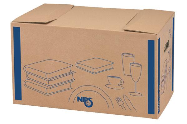 NIPS BÜCHER-/GESCHIRR-BOX Kompakt Und Besonders Stabil Für Geschirr Und Gewichtige Bücher