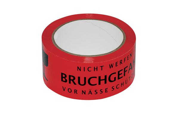 NIPS SIGNAL-KLEBEBAND Zum Verpacken, 3-sprachig Bedruckt