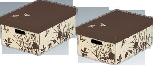 BUTTERFLY Aufbewahrungsboxen mit Deckel