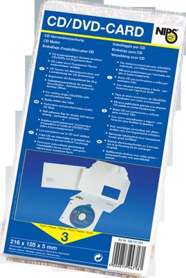 NIPS CD-DVD-CARD 3er Packung