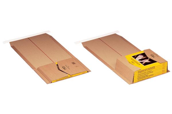 NIPS EASY-PACK Höhenvariable Versandverpackung Mit Selbstklebeverschluss Und Aufreißband