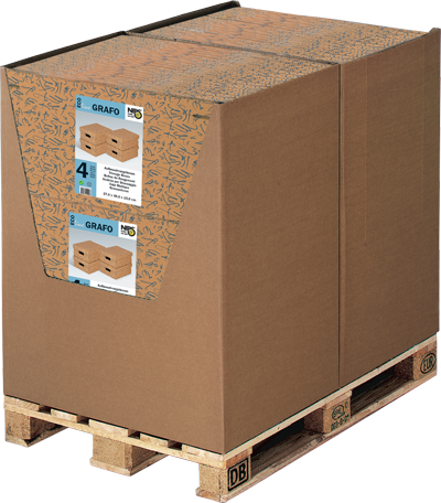 ECO line GRAFO Aufbewahrungsboxen mit Deckel