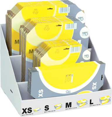 MAIL-PACK Post-Versandkartons im Kompakt-Display