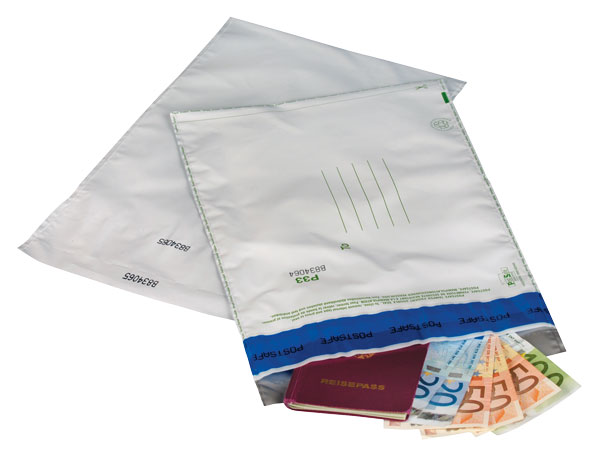 NIPS POSTSAFE PE-Versandtaschen mit Sicherheitsverschluss