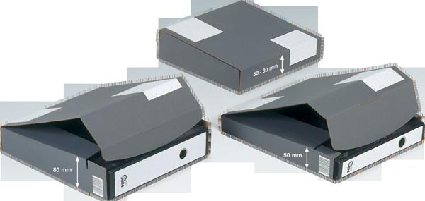 NIPS ORDNER-VERSANDBOX höhenvariabel 50-80
