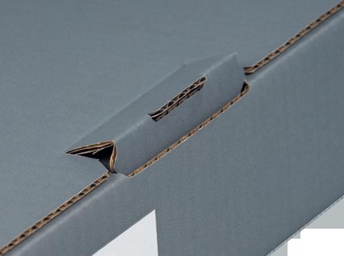 NIPS ORDNER-VERSANDBOX mit Steckverschluss