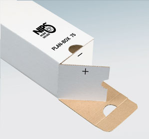 NIPS PLAN-BOX Verschlussklappe offen