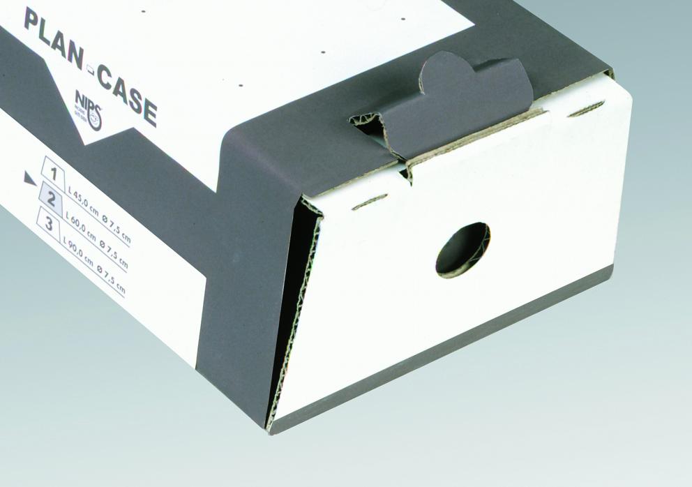 NIPS PLAN-CASE Verschlusslasche mit Gegenverriegelung