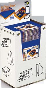 SCHOOLBOX mit variabler Innenaufteilung + Deckel