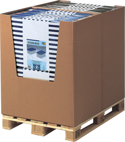STORE-BOX Aufbewahrungsboxen mit Deckel