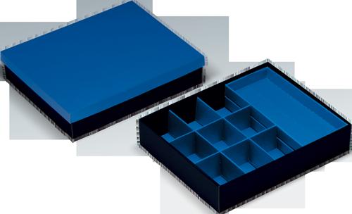 VARIO-BOX mit variabler Innenaufteilung + separatem Deckel