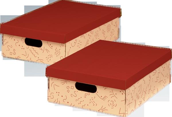 ECO line CHARLY MEHRZWECKBOX A3 mit Deckel