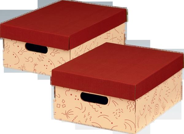 ECO line CHARLY MEHRZWECKBOX A4 mit Deckel