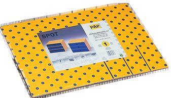 SPOT SCHUBLADENBOX A4 flachliegend in Folie mit Packungseinleger inkl. EAN