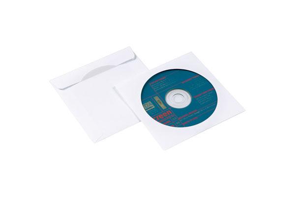 NIPS CD-DVD-Papierhülle Mit Mehrfachnutzbarem Steckverschluss