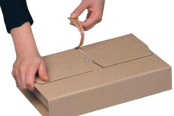 NIPS EASY-PACK höhenvariable Versandverpackung mit mit integriertem Aufreißband für leichtes Öffnen beim Empfänger