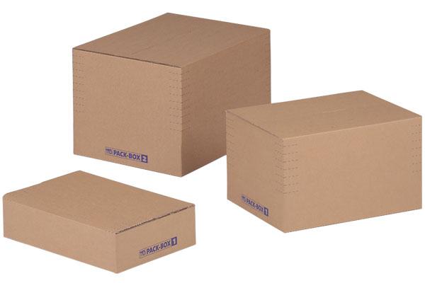 NIPS PACK-BOX Höhenvariable Verpackungsboxen Mit Selbstaufrichtendem Boden
