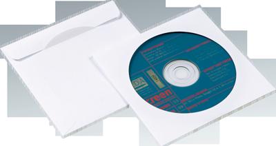 NIPS CD-DVD-Papierhülle ideal zum Schutz und zur platzsparenden Aufbewahrung von CDs und DVDs