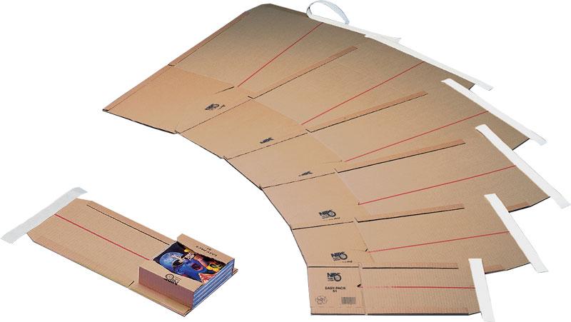 NIPS EASY-PACK Wickelverpackung, höhenvariable Versandverpackung