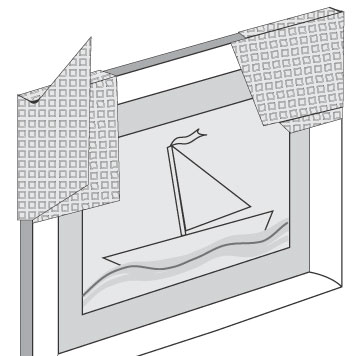 NIPS POLSTER-PACK Anwendungsbeispiel