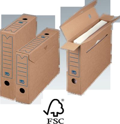 NIPS ARCHIV-ABLAGEBOX 65 SELECT FSC zertifiziert