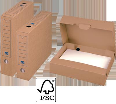 NIPS ARCHIV-ABLAGEBOX 75 SELECT FSC zertifiziert