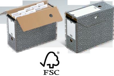 NIPS ARCHIV-BOX für Hängemappen FSC zertifiziert