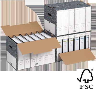NIPS ORDNER-ARCHIV-BOX FSC zertifiziert