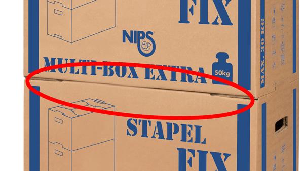 NIPS STAPEL-FIX Umzugskarton Galeriebild 3