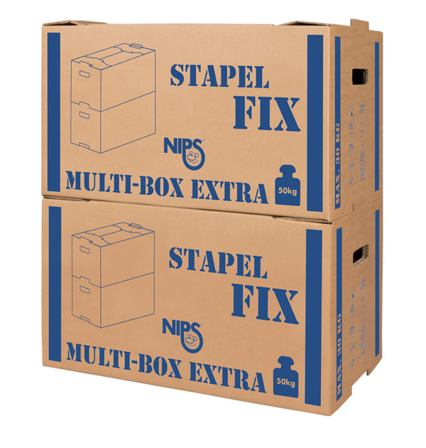 NIPS MULTI-BOX STAPEL-FIX Umzugskarton