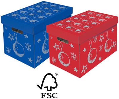 NIPS CHRISTMAS Aufbewahrungsbox FSC zertifiziert