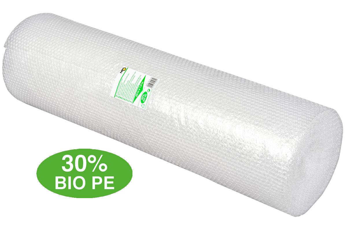 NIPS LUFTPOLSTERFOLIE BIO 1x25 m hergestellt aus 30% Bio-Polyethylen