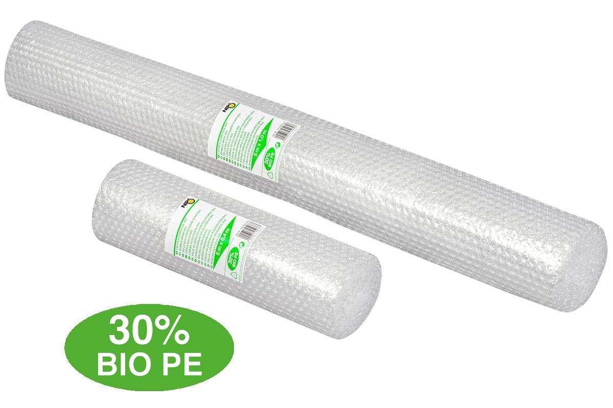 NIPS LUFTPOLSTERFOLIE BIO hergestellt aus 30% Bio-Polyethylen