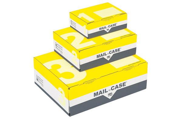 MAIL-CASE ® Postversandkartons Mit Sicherheits-Steckverschluss
