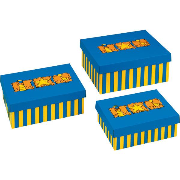 NIPS BEACH Aufbewahrungsbox 3er Set